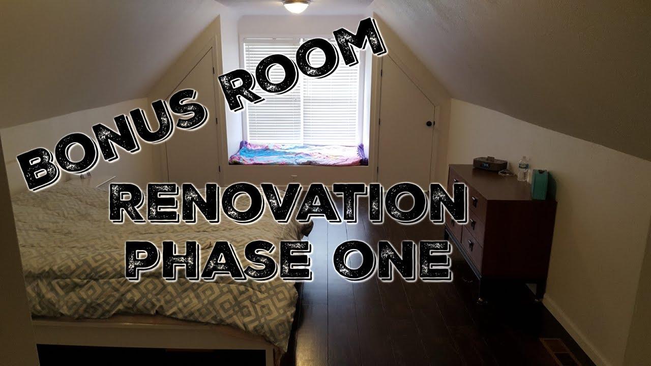 Bonus Room Renovation