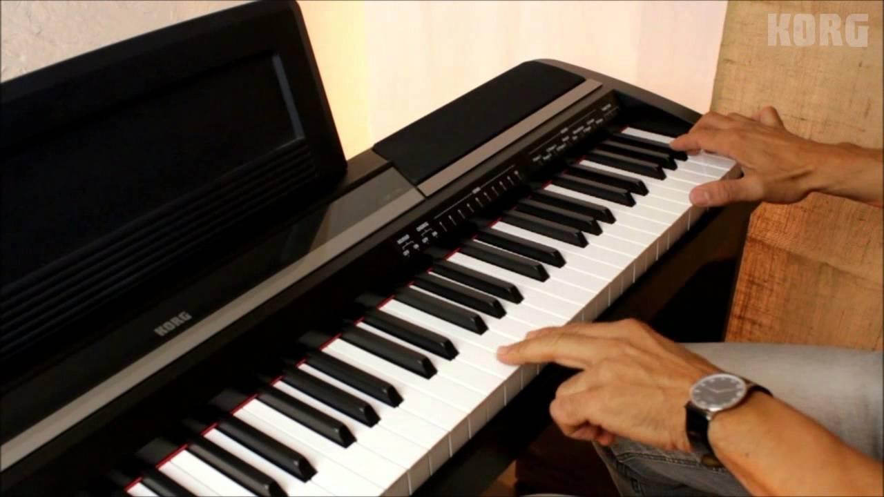 Configurando O Piano Digital Korg SP 170