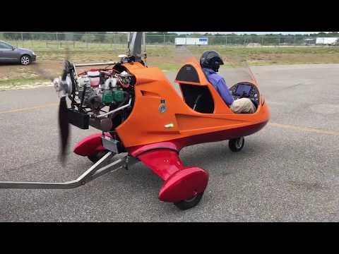 Silverlight Gyroplane HIGH DEFINITION Video Dynon HDX
