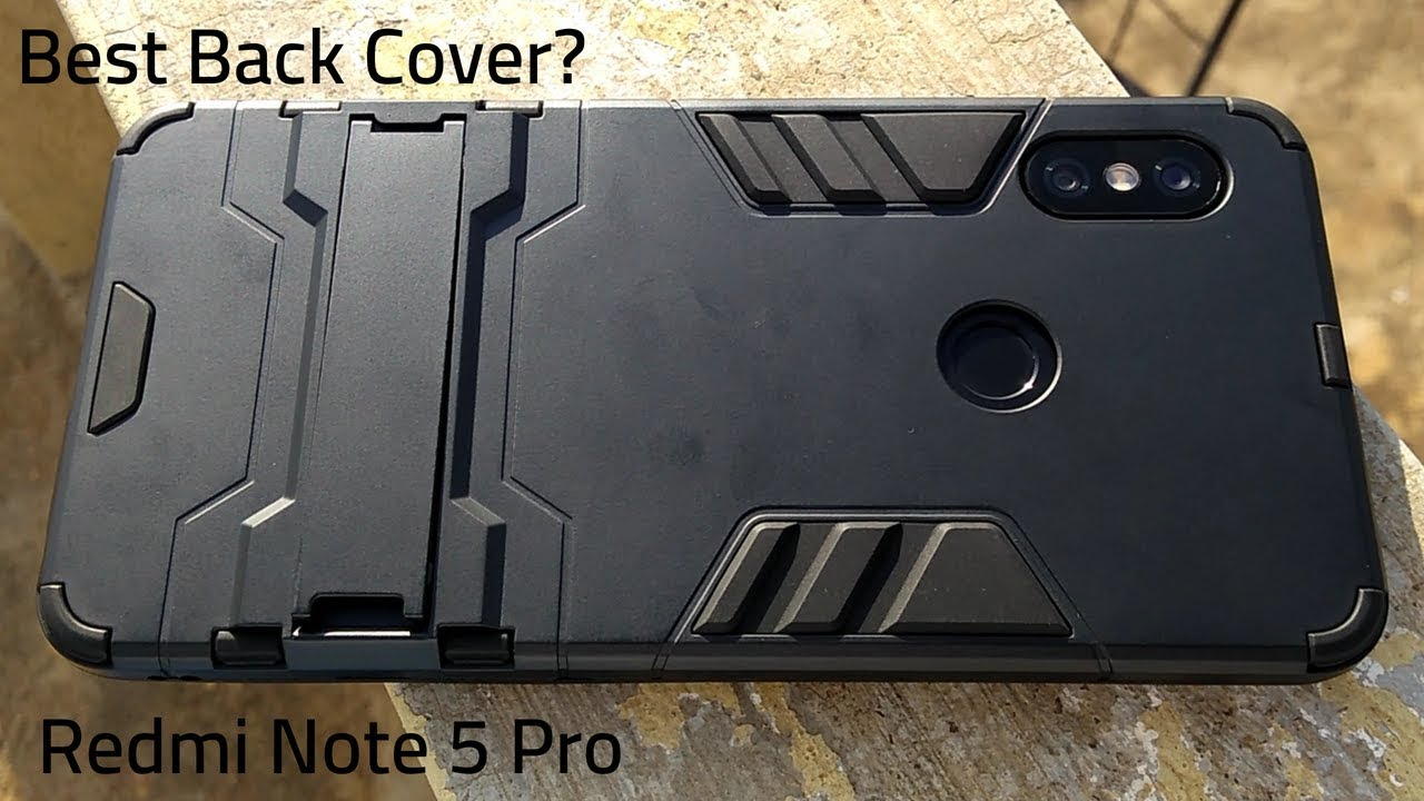 outlet store 4cc65 3a553 Redmi Note 5 Pro Best Back Cover? | TARKAN Heavy Duty Shockproof Armor  Kickstand Back Cover