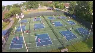 Mentor (OH) Pickleball Court Complex - Aerial View