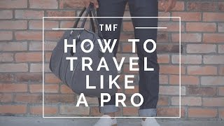 How to Travel Like a Pro | 2 Looks | Tips for Traveling light | Men