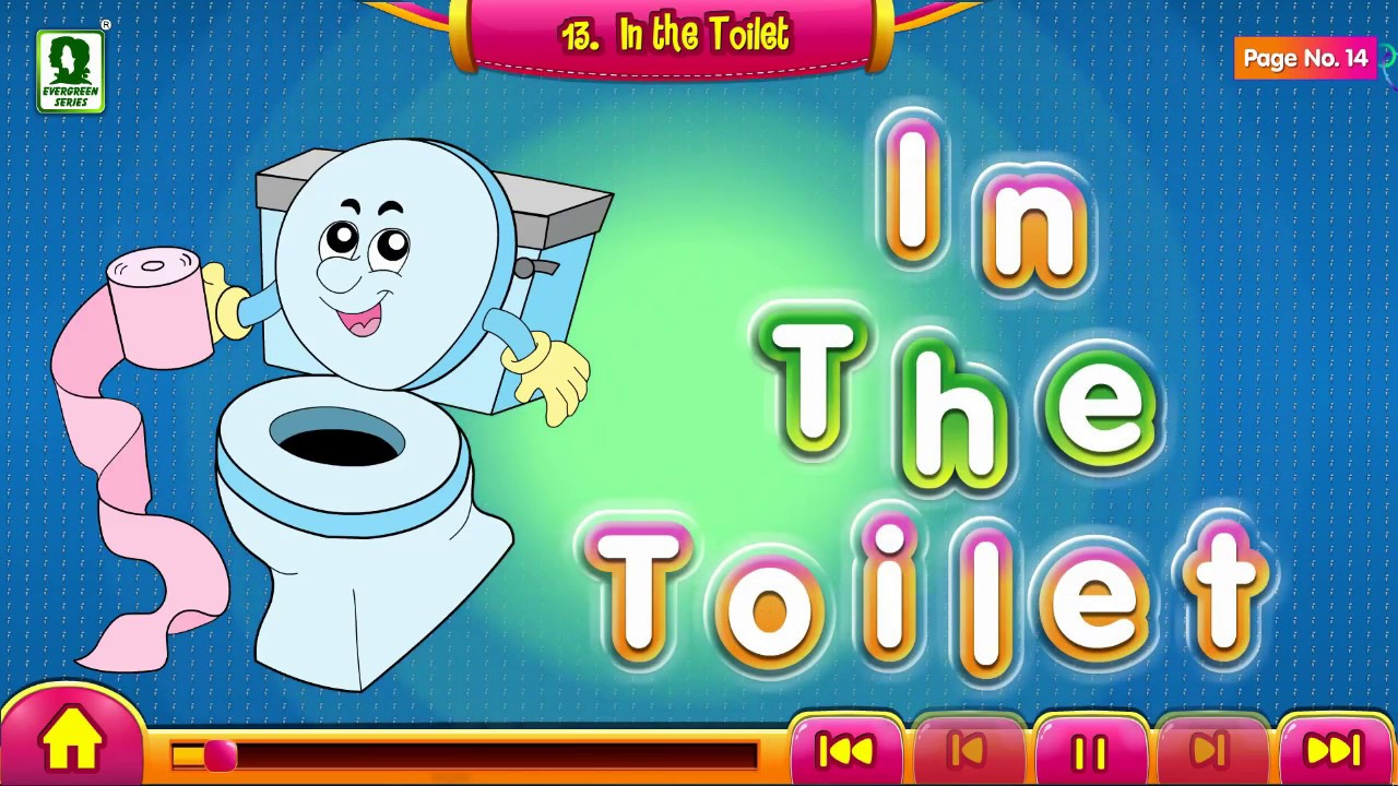 In the toilet | Good Manners in Everyday Life for Kids | Animated Videos for Kids