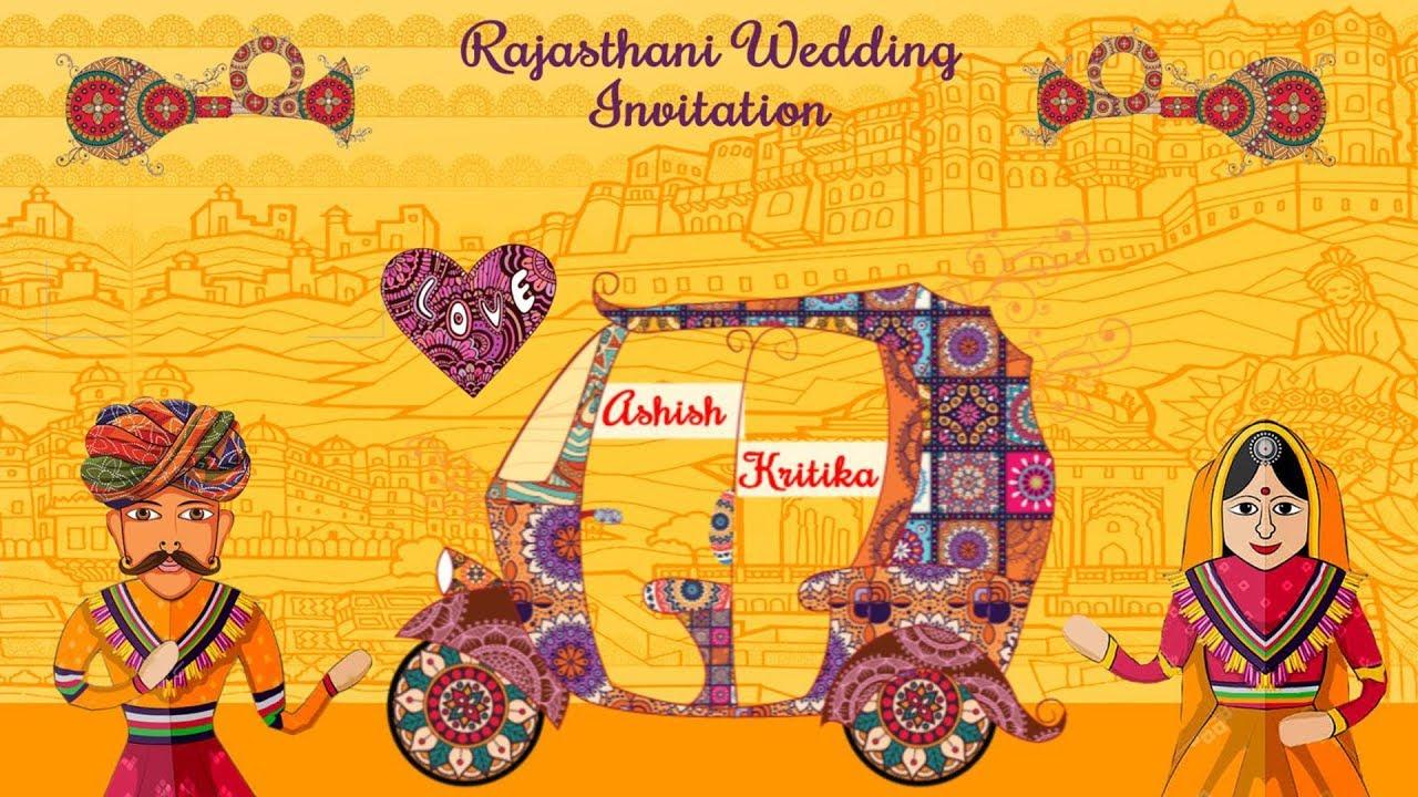 Rajasthani Wedding Save The Date Video