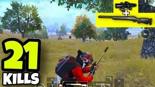 GOD OF M24!!! | M24 + 8X SCOPE BEST SNIPER FLICK SHOTS | PUBG MOBILE
