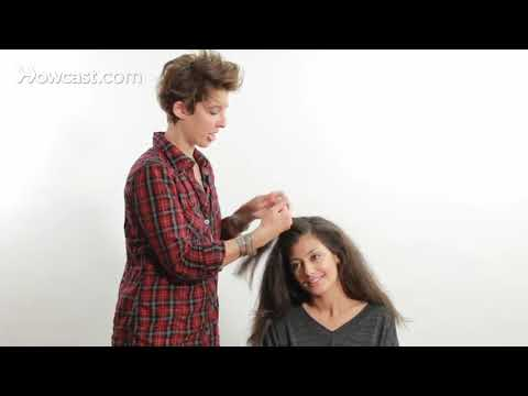 How to Straighten Your Hair with a Flat Iron hair tutorial Daily Personal Care Products