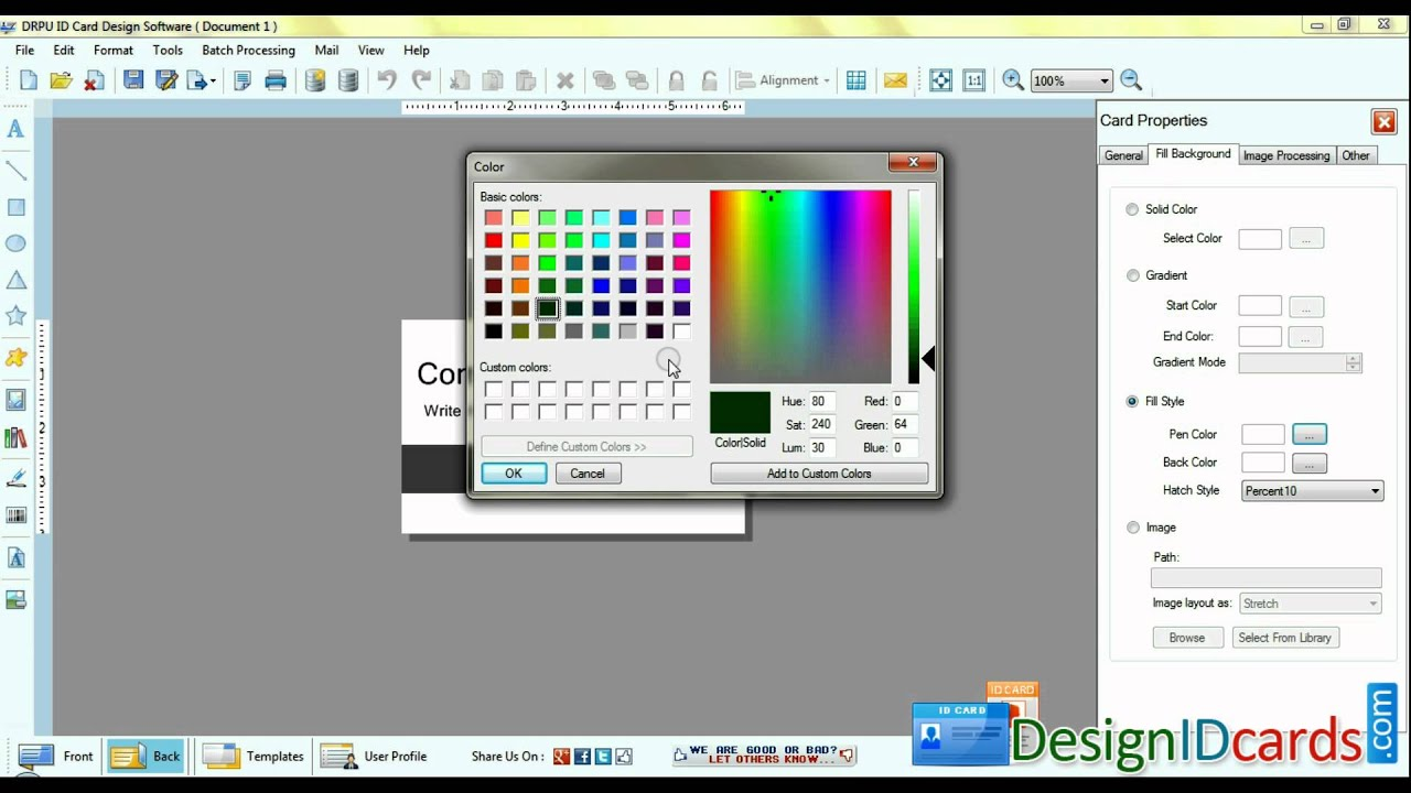 Free Id Card Printing Software Download
