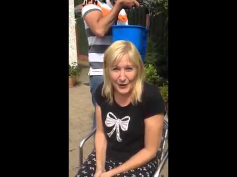 JENNIFER GIBNEY ALS ICE BUCKET CHALLENGE II MRS BROWNS BOYS