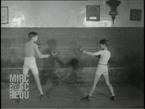 Démonstration De Boxe Française, Savate, Charlemont, Paris 1928