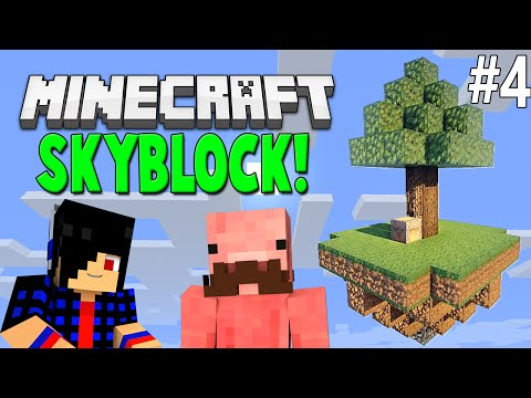 Creating A Player Shop [Minecraft: SkyBlock!] #4