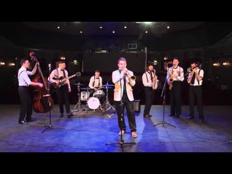John Legend - All of Me - Vintage/ Jive Cover by the Flash Mob Jazz Bigger Band