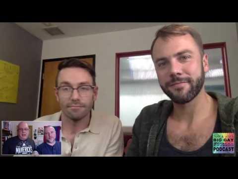 """Kit Williamson & John Halbach from """"Eastsiders"""" - BGFP Interview"""