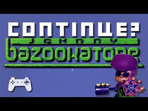 Johnny Bazookatone (PS1) - Continue?