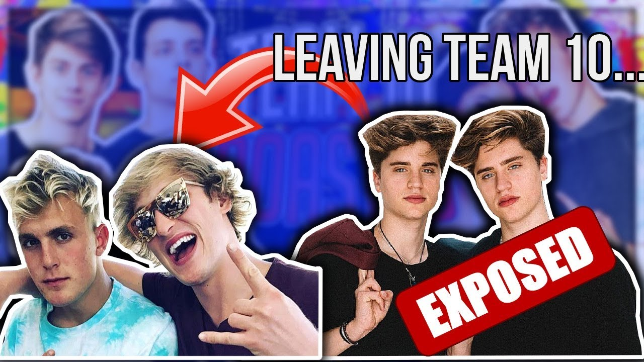 Jake and Logan Paul react to another member leaving Team 10