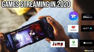 The BEST Game Streaming Services in 2020: Stadia, xCloud, GeForce Now & More