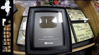 Серебряная кнопка YouTube или секреты NRG FISHING о раскрутке канала!!!!смотреть до конца!!!