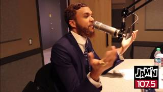 Jidenna Interview With JAM