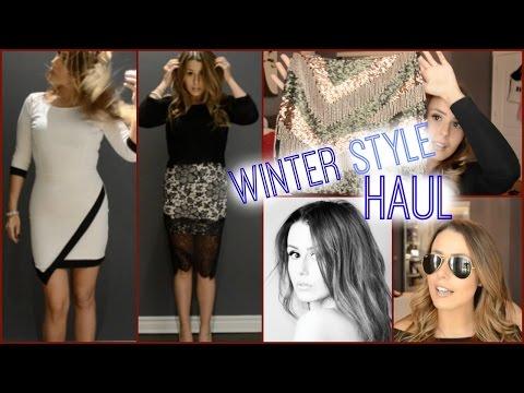 WINTER STYLE HAUL {CLOTHES, SUNGLASSES&MORE!}