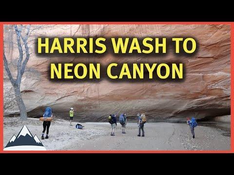 Harris Wash to Neon Canyon - Escalante Canyons