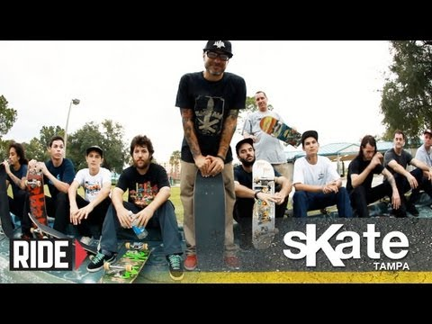 SKATE Tampa with Ryan Clements and The SPoT Crew