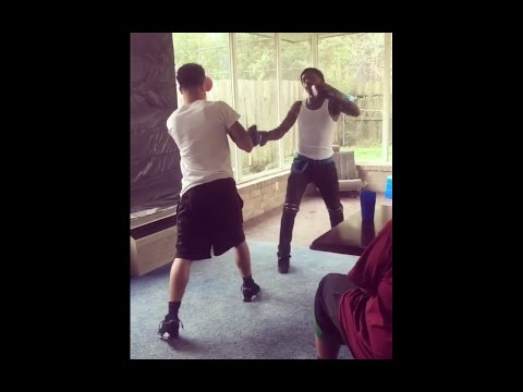 Scotty Cain Really Has Hands • Scotty Cain Fight's In The Hood