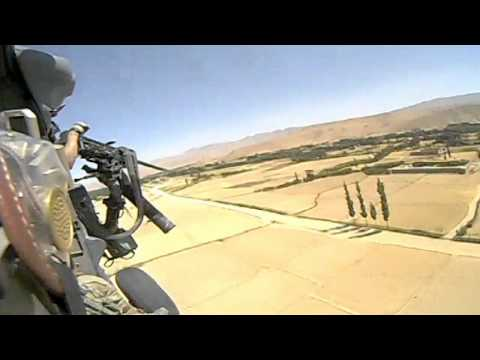 USAF HH-60 PJ Pararescue team flies rescue mission CSAR in Afghanistan