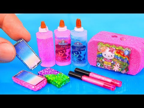 9 DIY Barbie Miniatures: Toy dollhouse, miniature mobile phone, and more!