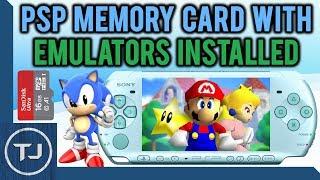 eBay PSP Memory Card With Emulators Installed! (PACK DOWNLOAD)