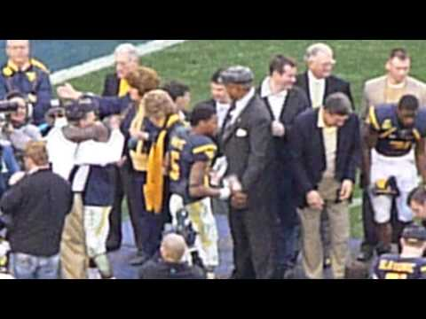 WVU Football, Meineke Car Care Bowl 2008, Pat White, Bill Stewart