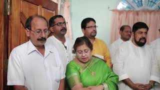 Amal Appu and Nikkitha Engagement Bride