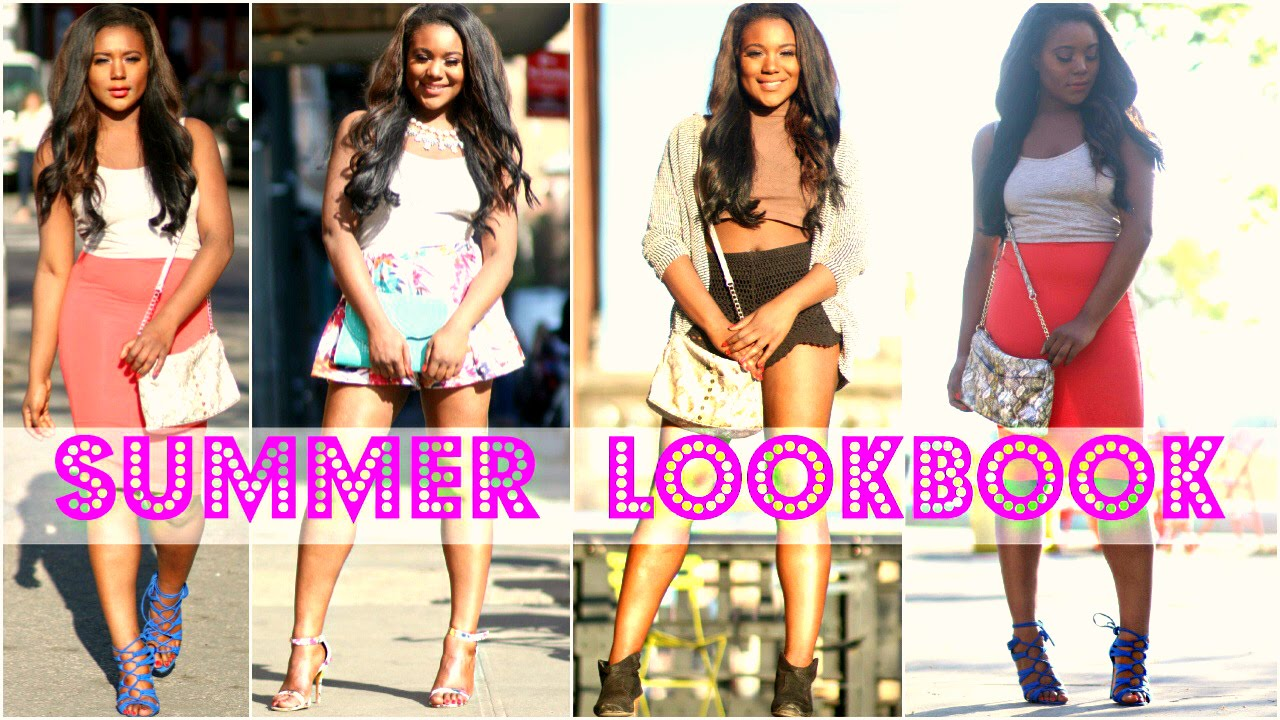 9d0a112fdeb SPRING SUMMER LOOKBOOK 2015 ! 4 Outfit Ideas for Summer - YouTube