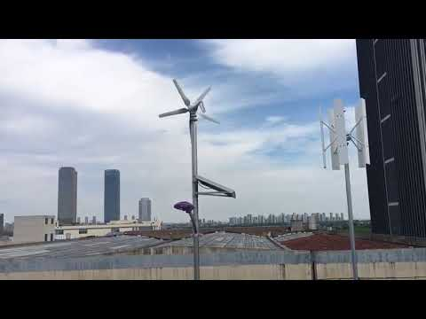 China wind turbine supplier manufacturer wind turbine decoration roof top