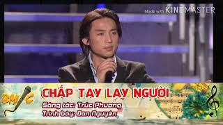 Karaoke : Đan Nguyên _ Chắp Tay Lạy Người ( full beat )