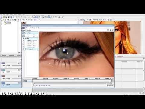 Sony Vegas Effect #1 (Eye Blink Tutorial)