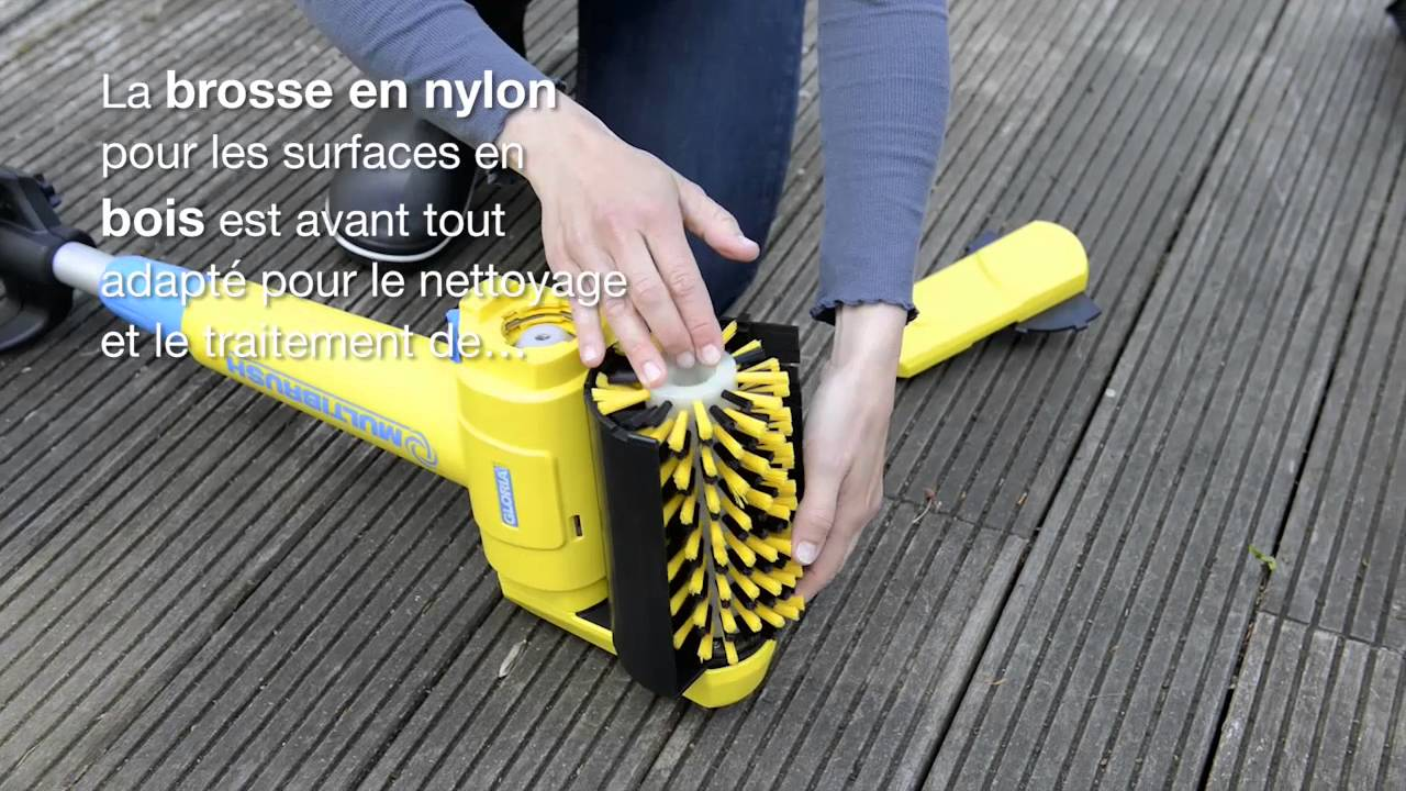Gloria multibrush version fr youtube for Nettoyeur vapeur joint carrelage