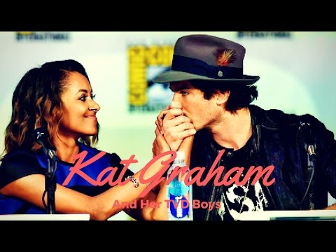 Kat Graham and Her TVD Boys