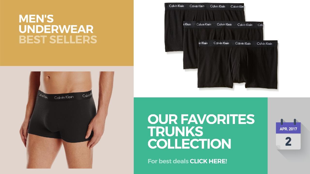 Our Favorites Trunks Collection Mens Underwear Best Sellers Youtube Calvin Klein Microfiber Steel Brief Original Calvinklein Emporioarmani