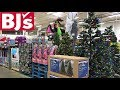 BJ'S CHRISTMAS DECORATIONS TREES GIFTS TOYS - SHOP WITH ME SHOPPING STORE WALK THROUGH 4K