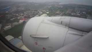 台北桃園国際空港 着陸 CI606 B737-800