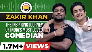 The Inspiring @Zakir Khan Story | Journey of India's MOST LOVED Comedian | The Ranveer Show
