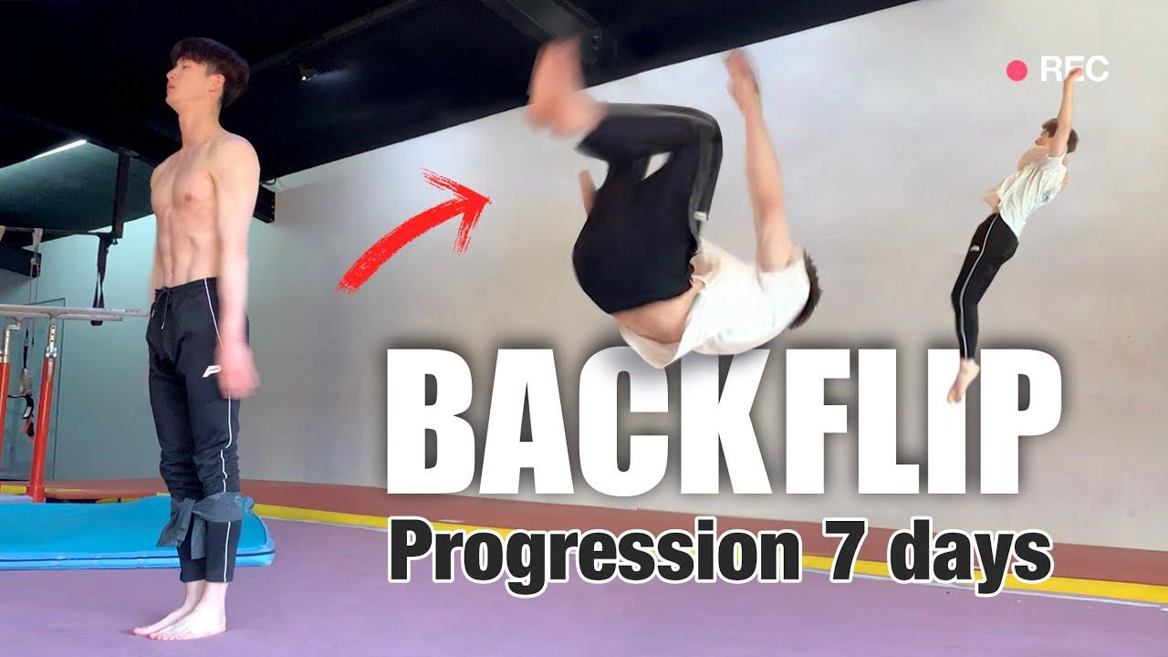 Don't Give Up [Backfilp Progression] in 7 days l 백플립 7일 동안 도전하기 [동기부여 영상]