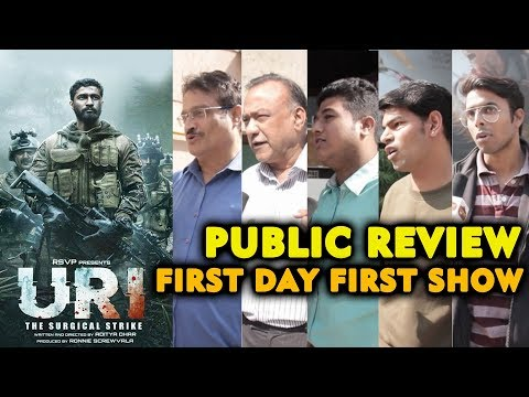 URI: The Surgical Strike PUBLIC REVIEW | First Day First Show | Vicky Kaushal, Yami Gautam