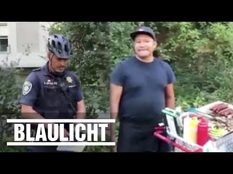 Bizarrer Streit um Hot-Dog-Lizenz! - Entlassung des Polizisten gefordert