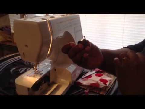 Part 40 Thread Euro Pro 40SA Front Bobbin Machine Pull U YouTube Extraordinary How To Thread Euro Pro Sewing Machine
