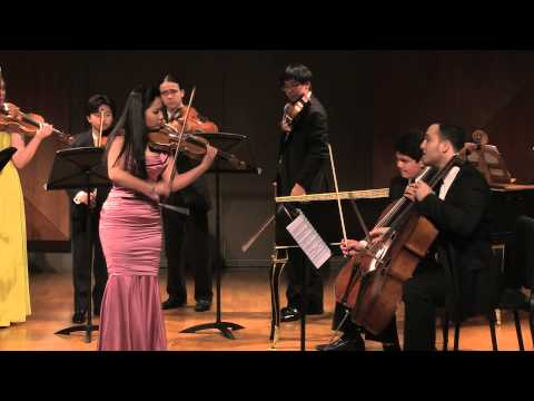 Sarah Chang - Center Stage Strings 2014 Benefit Concert