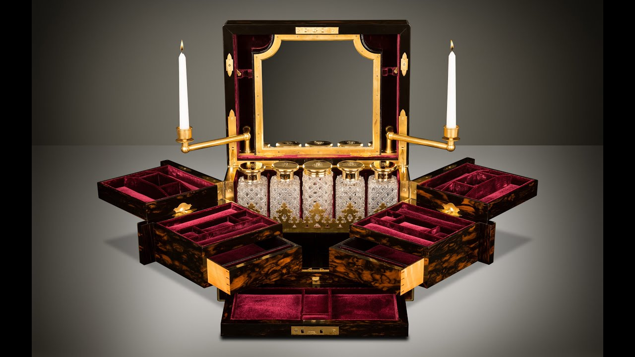 Danielluciancom Asprey Antique Jewellery Box with Betjemann
