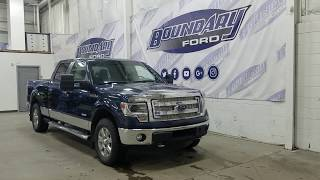 Pre-owned 2014 Ford F-150 SuperCrew XLT 302A W/ 3.5L EcoBoost, Cloth Overview | Boundary Ford