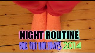 Holiday Night Routine☃ +Giveaway Thumbnail