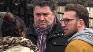 Wethouders in gesprek met Haarlemmers op straat