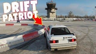 "FORZA HORIZON 4 - KIEROWNICA + BMW E30 Drift Patriot ""Dzik"""